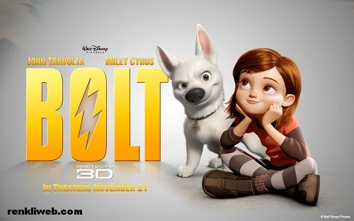 bolt, 3d, film, sinema