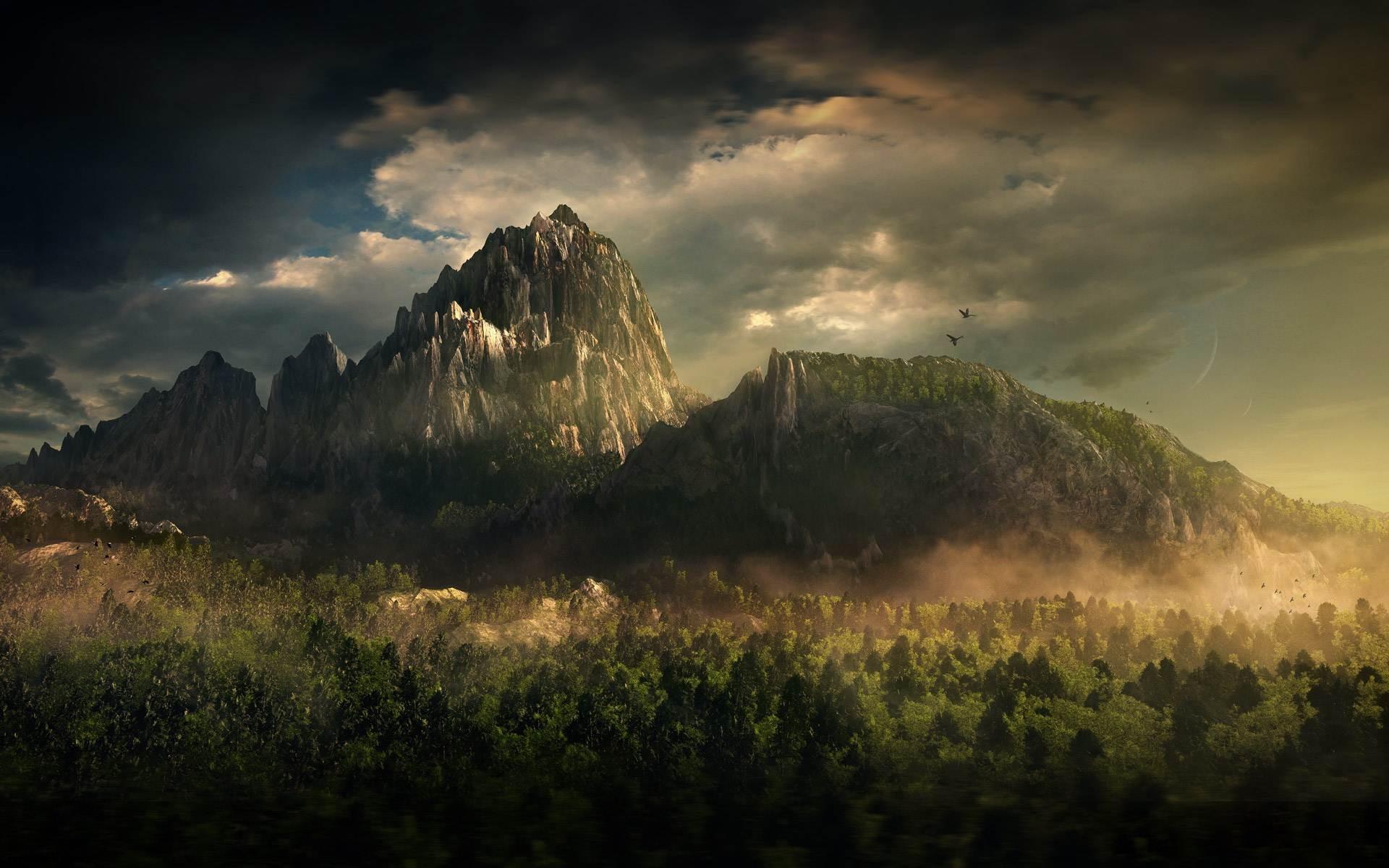 dağ manzarası 007