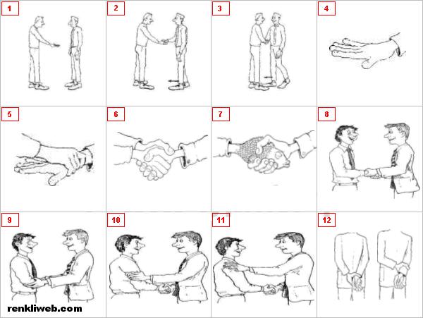 beden dili, işaretler, hareket