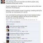 Facebook'un Üye Sayısı 1 Milyarı Geçti!