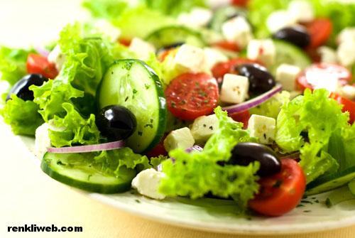 salata, diyet, kalori, zayıflama