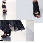 Uzun Siyah Şifon Elbisenin Altına Hangi Ayakkabı Giymeliyim?